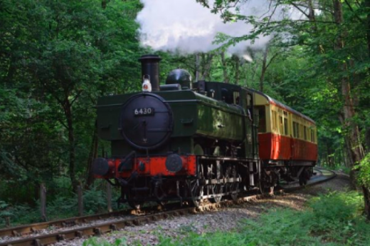 Award Winning Vintage Bus Steam Train with  Afternoon Tea with Visit  to the Oldest Wooden Church in Europe!