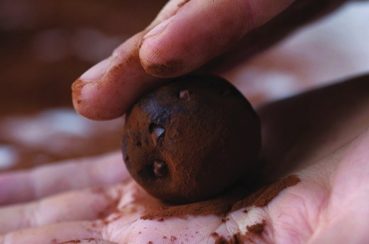 Learning how to make Truffles