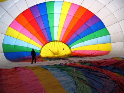 Hot Air Balloon Flight for Two in the UK