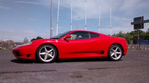 Ferrari Driving Experience In Belfast We Start Near Sprucefield