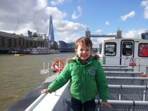 The Shard and Thames Cruise - Child Voucher