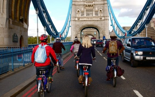 London Thames Bike Tour for Two