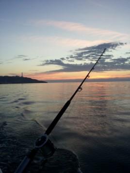 Trolling fishing in salento in italy sea experience in italy for Fishing in italy