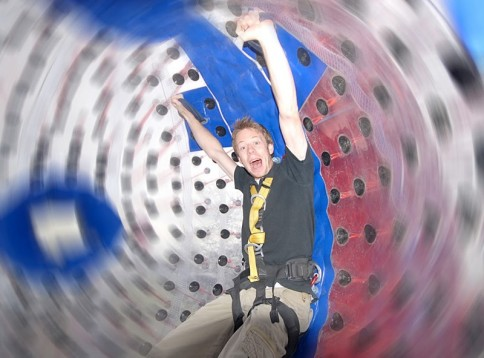 Zorbing for Two in the UK