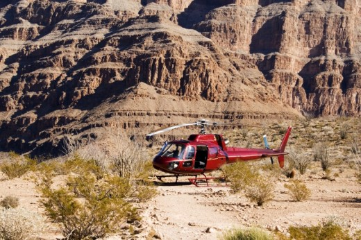 Helicopter Tour Grand Canyon  4550 Minute Tour