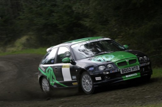 Rally driving in Uk