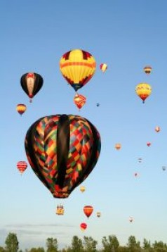 Hot Air Balloon Flight in UK