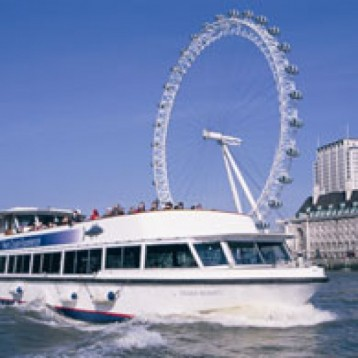 River Thames Cabaret Dinner Cruise for Two - London