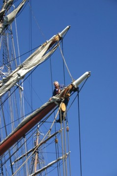 Tall Ship Sailing in Hampshire