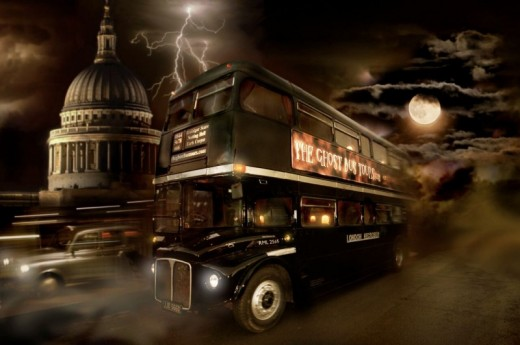 Ghost Bus Tour London Includes Meal At Pizza Express