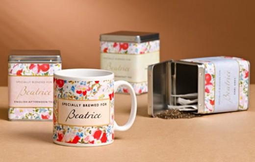 Personalised Tea Gift Set   Includes Luxury Tea Bags