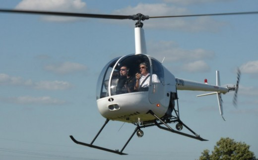 Helicopter Flying Lesson - 120 Minutes