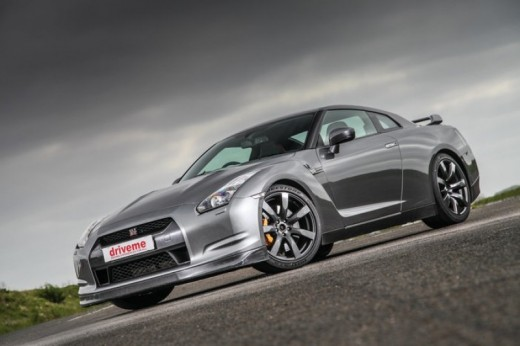 Kids drive a Nissan GTR and Rally car