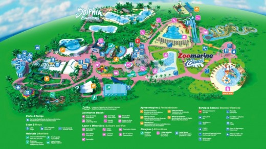 mapa zoomarine Ticket for Zoomarine Theme Park   Algarve, Portugal | Vouchers  mapa zoomarine