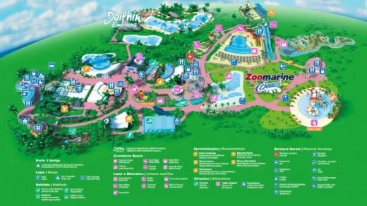 zoomarine mapa Ticket for Zoomarine Theme Park   Algarve, Portugal | Vouchers  zoomarine mapa