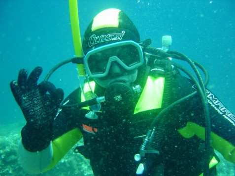 Scuba Diving for two in Hampshire