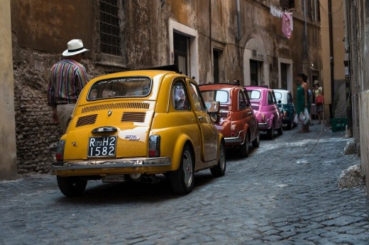 Private Tour By A Vintage Fiat 500 And Wine Tasting In Rome