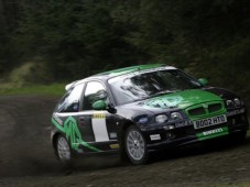 Pro Rally Ride in UK - High Speed Passenger Professional Rally Ride from Golden Moments