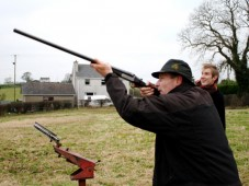 Clay Shooting for Two in Bedfordshire Riseley, Bedfordshire