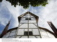 Shakespeare's Globe Theatre tour and exhibition for two