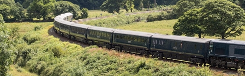 Belmond Grand Hibernian train trips, experiences and gifts