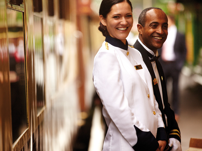 luxury train trips and gifts