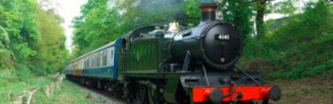 Steam train trips, experiences and gifts
